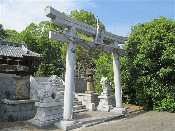 (012)大歳神社鳥居