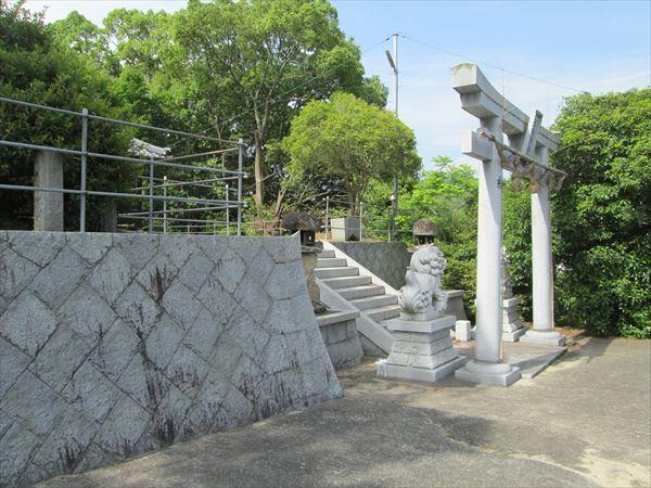 (013)大歳神社石垣