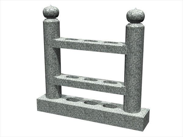 (004)塔婆立て宝珠型丸柱)